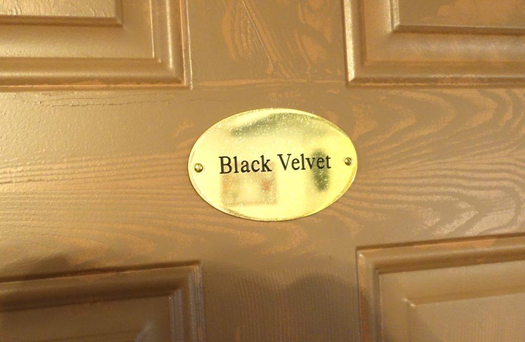 Guest house_BLACK VELVET_1
